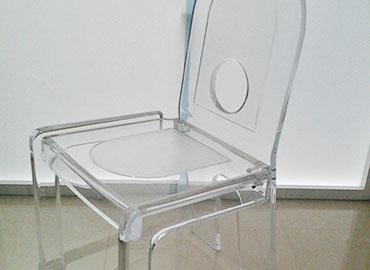 Sillas de acrilico silla sac vendo mesa de vidrio de for Sillas de acrilico